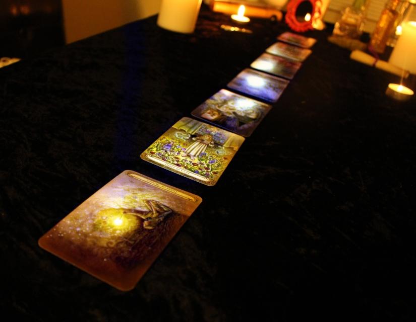 Tarot Spread of the Week:  7 ChakraSpread