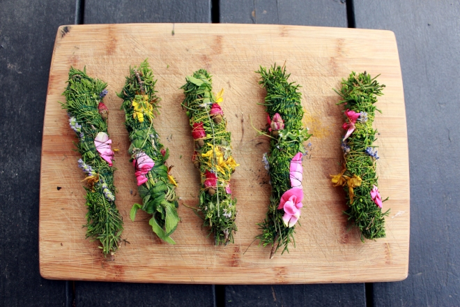 Floral Smudge Wands