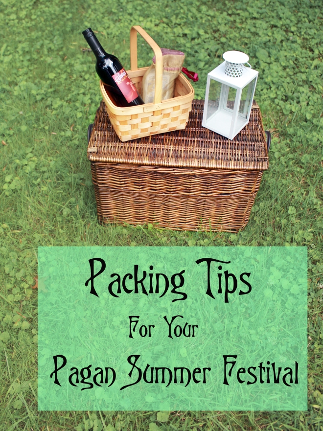 Packing Tips for Your Pagan Summer Festival