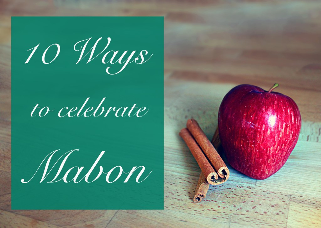 10 ways to celebrate mabon
