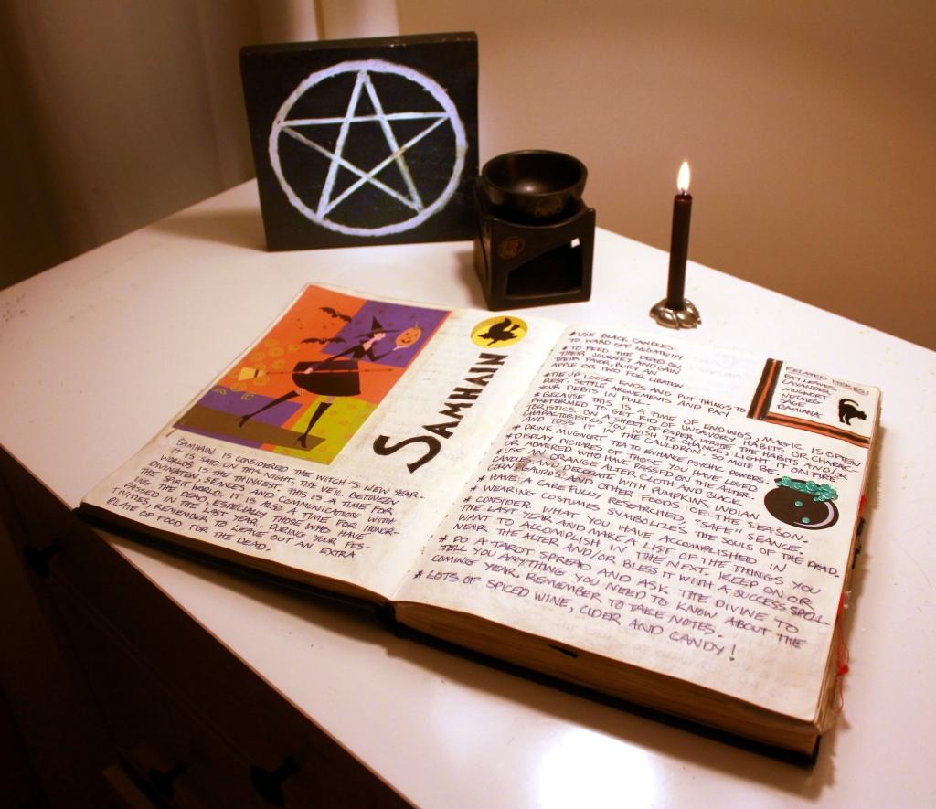 Ritual notes.