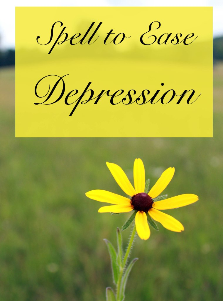 spell to ease depression