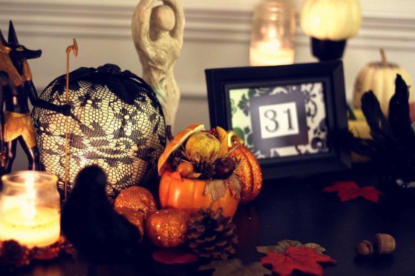 Samhain Altar 2016