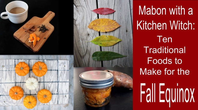 mabon with a kitchen witch